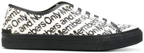 Stella McCartney Members Only printed low top sneakers