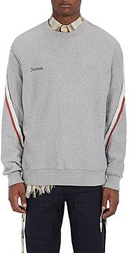 Facetasm Men's Embroidered Cotton Sweatshirt