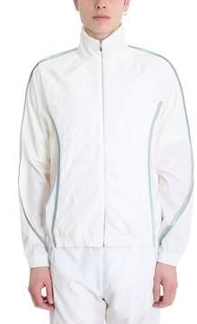 Cottweiler White Nylon Sweatshirt