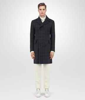 Bottega Veneta Dark Grey Double Cashmere Coat