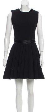 David Koma Wool Mini Dress