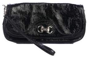 MICHAEL Michael Kors Patent Leather Wristlet