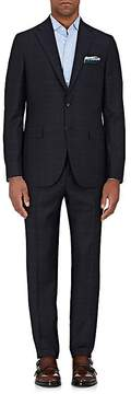 Boglioli Men's Alton Plaid Wool Two-Button Suit