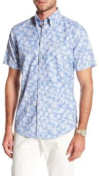 Brooks Brothers Palm Tree Short Sleeve Regular Fit Shirt