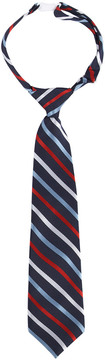 Andy & Evan Boys' Navy All American Stripe Tie