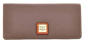 Dooney & Bourke Pebble Grain Slim Wallet - ELEPHANT - STYLE