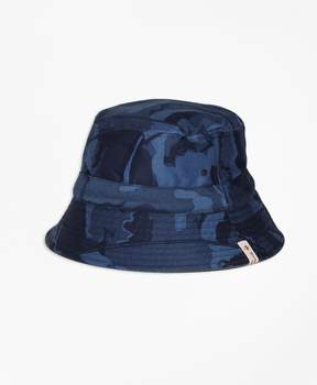 Brooks Brothers Reversible Cotton Bucket Hat