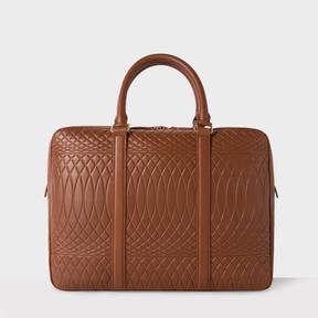 Paul Smith No.9 - Brown Leather Slim Business Folio