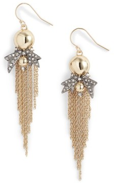 Alexis Bittar Women's Gold Ball Drop Earrings