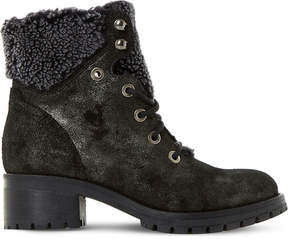 Dune Rochelle leather ankle boots
