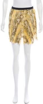 Enza Costa Printed Mini Skirt w/ Tags