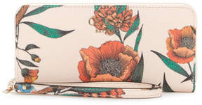 GUESS Vikky Floral Zip-Around Wallet
