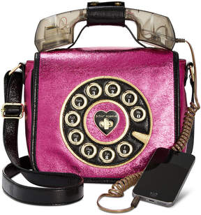 Betsey Johnson Off The Hook Phone Small Crossbody