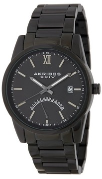 Akribos XXIV Men's Stainless Steel Bracelet Watch