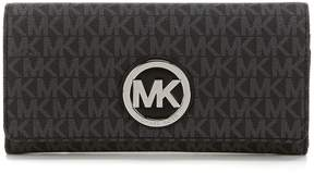 MICHAEL Michael Kors Fulton Signature Carryall Wallet - BLACK - STYLE
