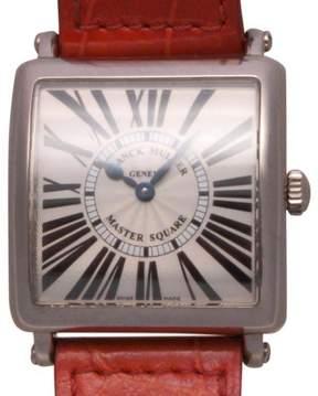 Franck Muller Master 6000 KSC 18K White Gold 32mm Mens Watch