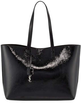 Saint Laurent Large East-West Shopping Tote Bag - BLACK - STYLE