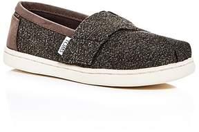 Toms Boys' Classic Slip-On Sneakers - Walker, Toddler