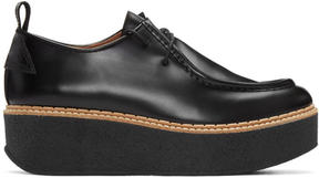 Flamingos Black Wedge Titus Loafers