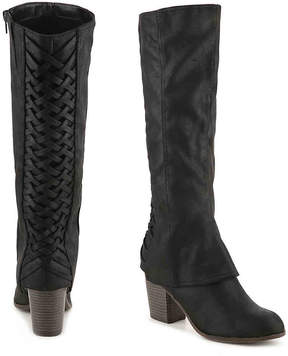 Fergalicious Women's Tootsie Wide Calf Boot