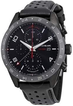 Montblanc TimeWalker Chronograph Automatic Black Dial Men's Watch