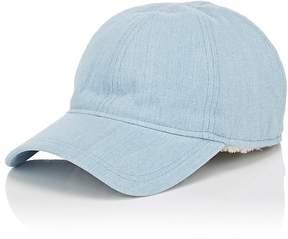 Barneys New York New Era XO Men's Shearling-Lined Denim Baseball Hat