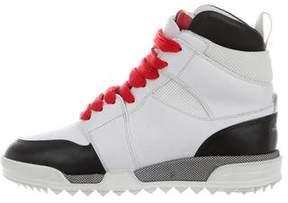 Rag & Bone Leather High-Top Sneakers