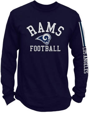 Authentic Nfl Apparel Men's Los Angeles Rams Spread Formation Long Sleeve T-Shirt