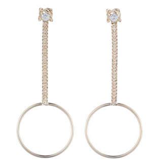 Dannijo Yandal Crystal Statement Earrings