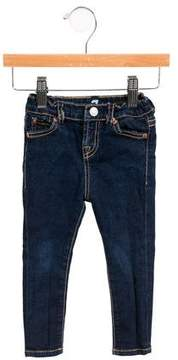 7 For All Mankind Girls' Elasticized Skinny Jeans