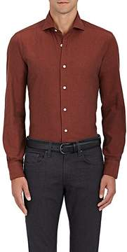 Barba Men's Cotton Twill Shirt