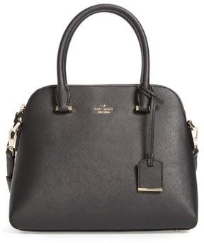Kate Spade Cameron Street Maise Leather Satchel - Black - BLACK - STYLE