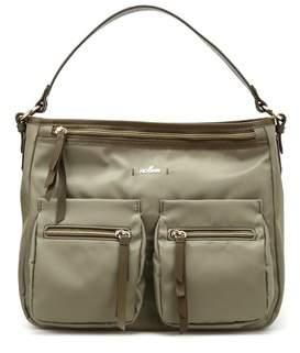 Hogan Women's Kbw00xr1200ikx187l Green Fabric Shoulder Bag.