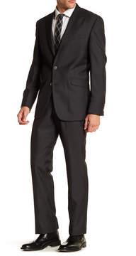 Kenneth Cole Reaction Solid Two Button Notch Lapel Suit