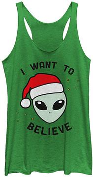 Fifth Sun Envy 'I Want to Believe' Alien Racerback Tank