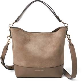 Ralph Lauren Small Suede Leather Hobo Bag