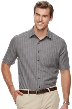 Croft & Barrow Big & Tall Regular-Fit Easy-Care Microfiber Button-Down Shirt