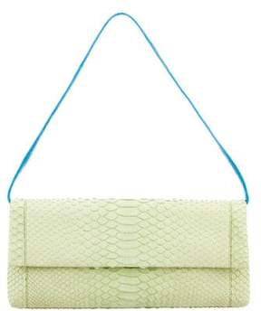Nancy Gonzalez Crocodile & Python Gotham Clutch
