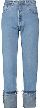 Levi's Re/Done By High-Rise Straight-Leg Jeans