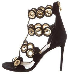 Barbara Bui Embellished Cutout Sandals