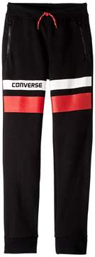 Converse Color Blocked Slim Fit Jogger Boy's Casual Pants