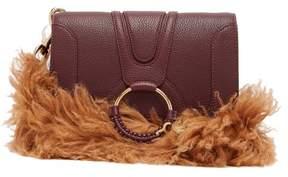 See by Chloe Hana Small Leather Cross Body Bag - Womens - Purple Multi