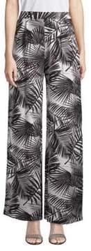 Fleur Du Mal High-Rise Silk Pants