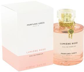 Lumiere Rose by Parfums Gres Eau De Parfum Spray for Women (3.4 oz)