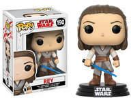 Disney Rey Pop! Vinyl Bobble-Head Figure by Funko - Star Wars: The Last Jedi