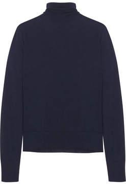 Bottega Veneta Merino Wool Turtleneck Sweater - Navy