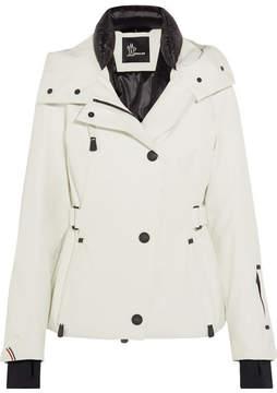 Moncler Ancelle Hooded Ski Jacket - White