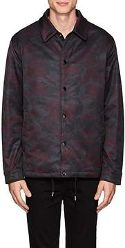Barneys New York MEN'S CAMOUFLAGE INSULATED JACKET