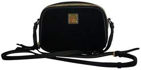 Dooney & Bourke Black Suede Crossbody - BLACK - STYLE