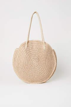 H&M Round Straw Bag - Beige
